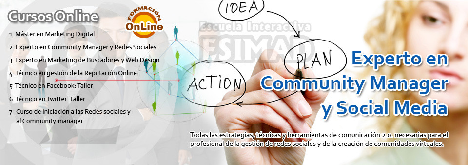 Experto en Community Manager y Social Media