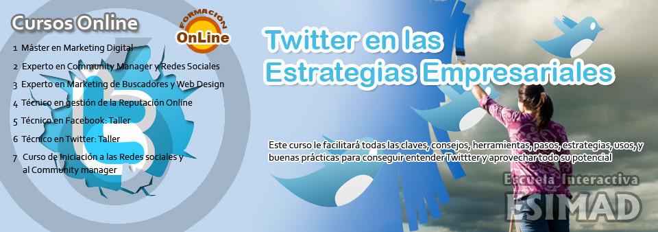 Twitter en las estrategias empresariales