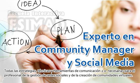 Experto en Community Manager y Social Media