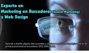 Experto en marketing en buscadores y web design